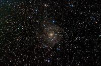 IC 342, Hidden Spiral Galaxy in Camelopardalis
